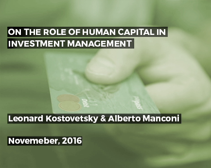 Human Capital Strategy – a New Angle on HR